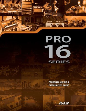 Pro-16 Brochure (.pdf) - Northern Sound & Light