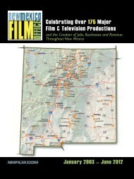 Celebrating Over 175 Major Film & Television Productions