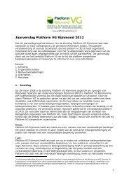 2013-03-20 Jaarverslag Platform VG Rijnmond 2012.pdf - KansPlus