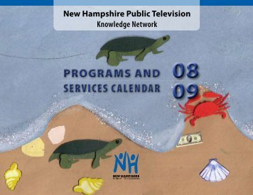 programs and services calendar programs and services ... - nhptv