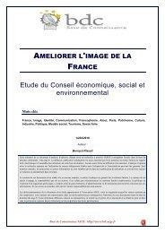 Améliorer l'image de la France - Base de connaissance AEGE