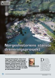 Norgeshistoriens største dreneringsprosjekt - NGI