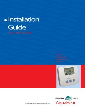 System: AQH0034 AquaHeat Installation Guide Boiler Room Systems