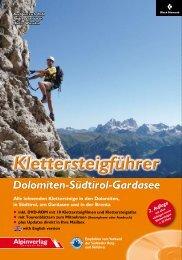 Dolomiten-Südtirol-Gardasee - Alpinverlag