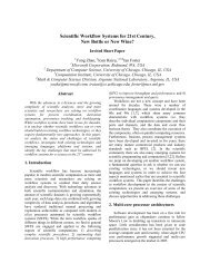 Scientific Workflow Systems for 21st Century, New Bottle or ... - arXiv