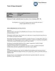 1. Status på projekt Sundhedsfremme for seniorer. - Greve Kommune