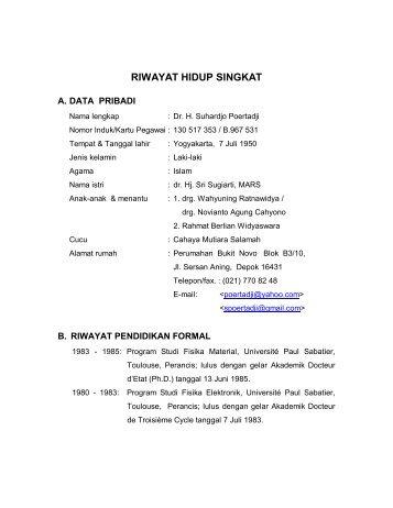 C.V. S.Poertadji.pdf - Universitas Indonesia