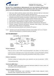 STAR-NET-FP1X-asennu.. - Microdata Finland Oy