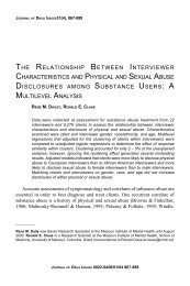 the relationship between interviewer characteristics and physical ...