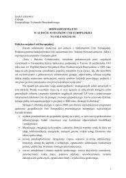 1 Jacek Uczkiewicz Członek Europejskiego Trybunału ... - Eurorai.org