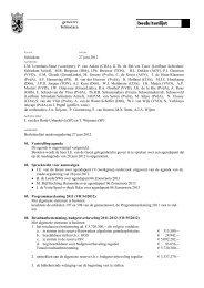 Besluitenlijst - Gemeente Schiedam