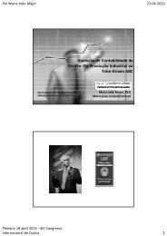 Evolução da Contabilidade de Gestão: Da Revolução Industrial ao ...