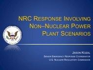 NRC Response Involving Non–Nuclear Power ... - Blsmeetings.net