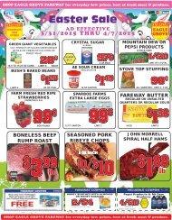 all varieties! - Fareway