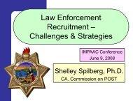Law Enforcement Recruitment: Challenges & Strategies - IPAC