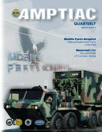 QUARTERLY - Advanced Materials, Manufacturing and Testing ...