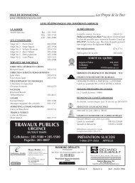 Volume 4, Numéro 06, Juin - Juillet 2006 - Ville de Donnacona