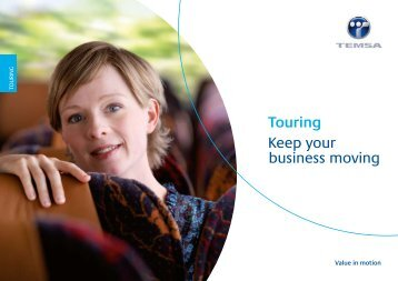 Touring Keep your business moving - Temsa.com