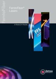 FemtoFiber® Lasers - Toptica