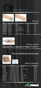 Floor baSeboard programme - Formales - Page 3
