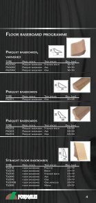 Floor baSeboard programme - Formales - Page 4