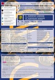 8. – 10. marec / March 2010 - Potravinárska komora Slovenska