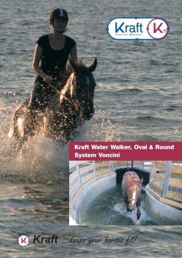 Wasser-Führanlage engl. März 2012 - Kraft Horse Walker