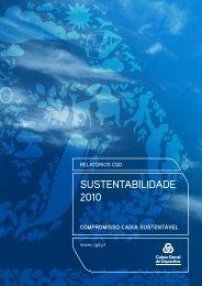 SUSTENTABILIDADE 2010 - Caixa Geral de Depósitos
