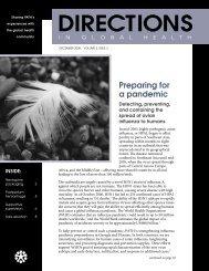 Directions in Global Health, Volume 3, Issue 3, December ... - POPPHI