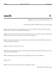 mach 1 - Swiss Masters Athletics
