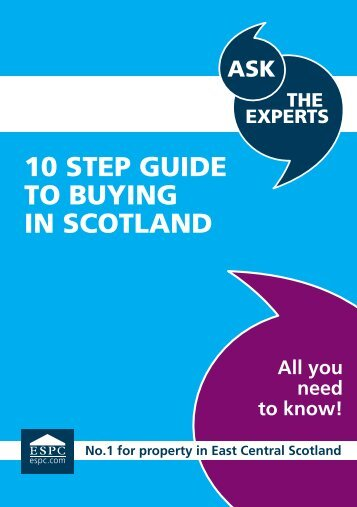 10 STEP GUIDE TO BUYING IN SCOTLAND - ESPC.com