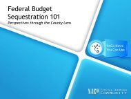 Federal Budget Sequestration 101 - National Association of Counties