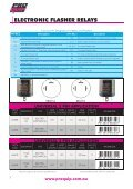 led flasher relays - Pro Quip - Page 2