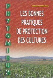 Guide phytomieux - Chambre d'agriculture