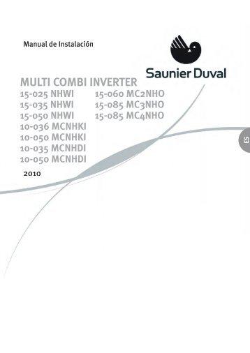 MULTI COMBI INVERTER - Saunier Duval