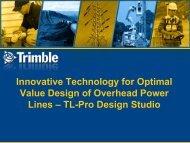 Innovative Technology for Optimal Value Design of Overhead Power ...