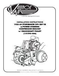141804-MCA CORVETTE LS1 REV B 3 05 - Vintage Air