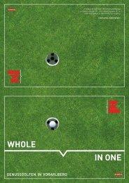 Zum Download Golfbroschüre Vorarlberg - Golf Magazin
