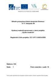 DUM 18 - Měna, kurzovní lístek - Střední průmyslová škola strojnická ...