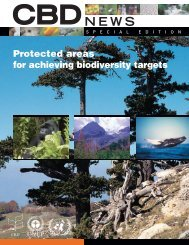 Protected areas for achieving biodiversity targets - Convention on ...