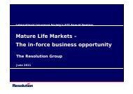 Presentation - International Insurance Society