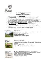 HerbstWinter-Programm 2012-1 - Kreisgruppe Landshut des Bund ...