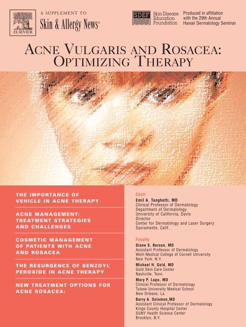 Skin & Allergy News® - Center for Dermatology and Laser Surgery