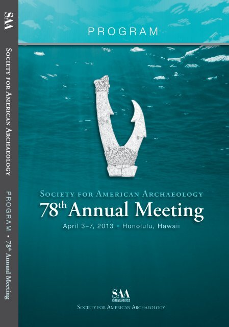 78th Annual Meeting - Society for American Archaeology