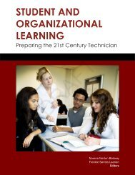 student and organizational learning - CCLP - Iowa State University