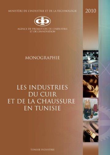 Industries du Cuir et de la Chaussure - Tunisie industrie