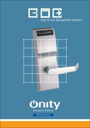 Onity Access Management Solutions