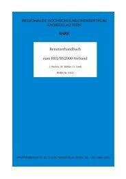 Benutzerhandbuch zum BS3/BS2000-Verbund