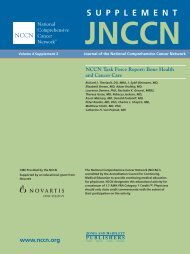 Jnccn - National Comprehensive Cancer Network
