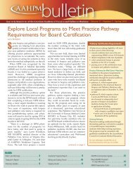 Explore Local Programs to Meet Practice Pathway Requirements for ...